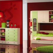 palkovic-djecja-soba-planet-svjetlo-zelena