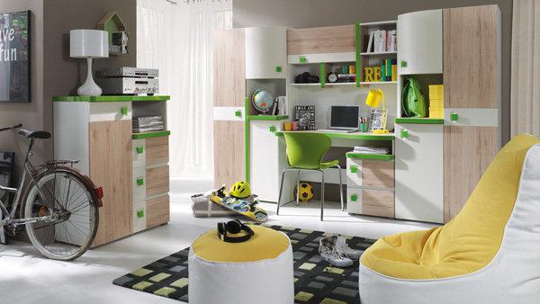 Palković dječja soba Colorato zelena