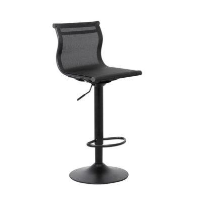 Barska stolica Chaise (crna) - Palković